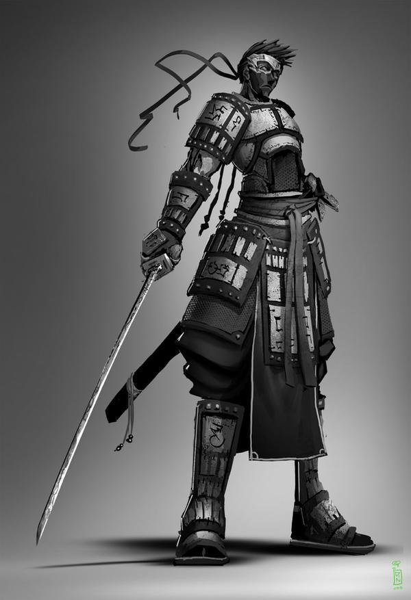 Badass Anime Character Design : Hashiji by dinmoney on deviantart