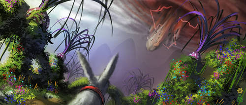 alice falls to wonderland by dinmoney
