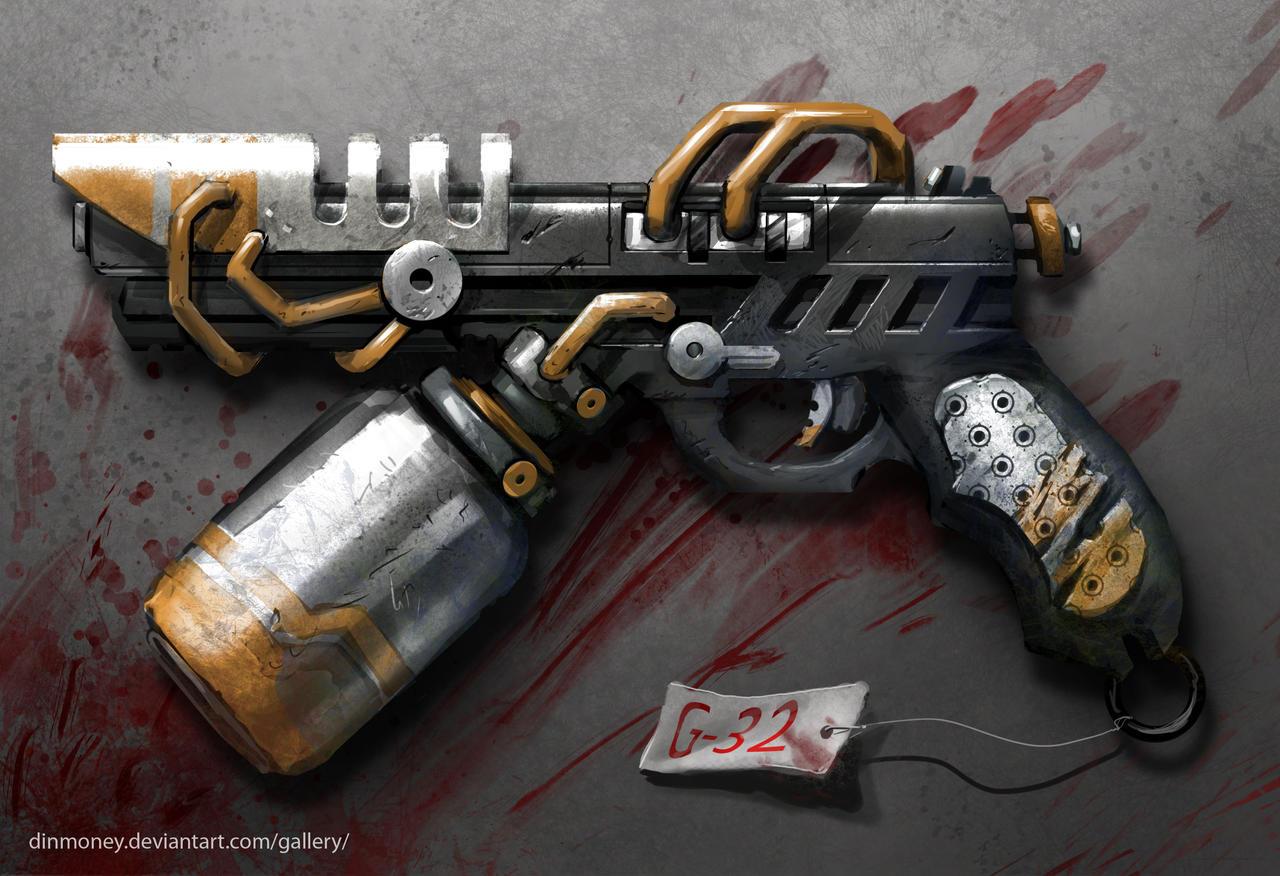 district 9 handgun- G32