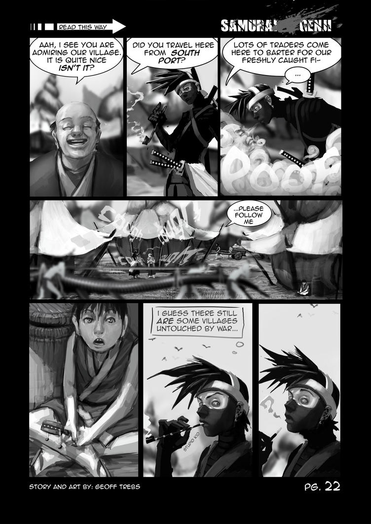 samurai genji pg.22 by dinmoney