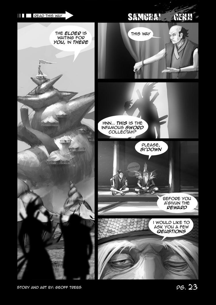 samurai genji pg.23 by dinmoney
