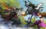 Crossover: Lord Remix vs Genji by dinmoney