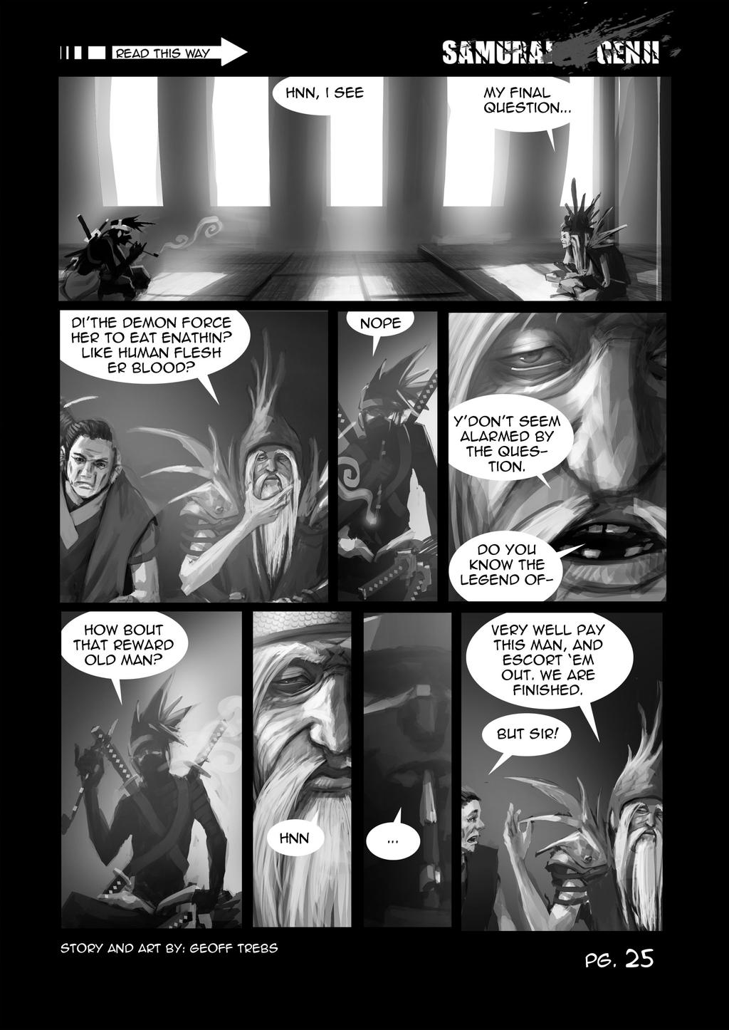 samurai genji pg.25 by dinmoney