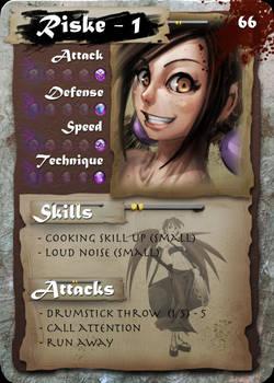 SamGen card - 'Riske lvl 1'