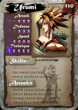 SamGen card - 'Urumi Sanza'