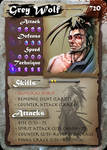SamGen card - 'Grey Wolf' by dinmoney