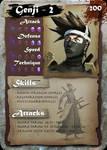 SamGen card - 'Genji - lvl 2' by dinmoney