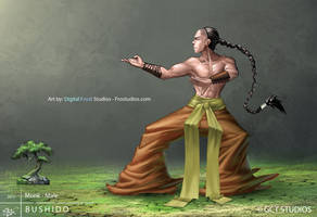 Monk - Male by dinmoney