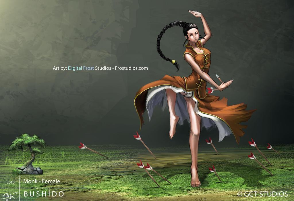 Monk - Female by dinmoney