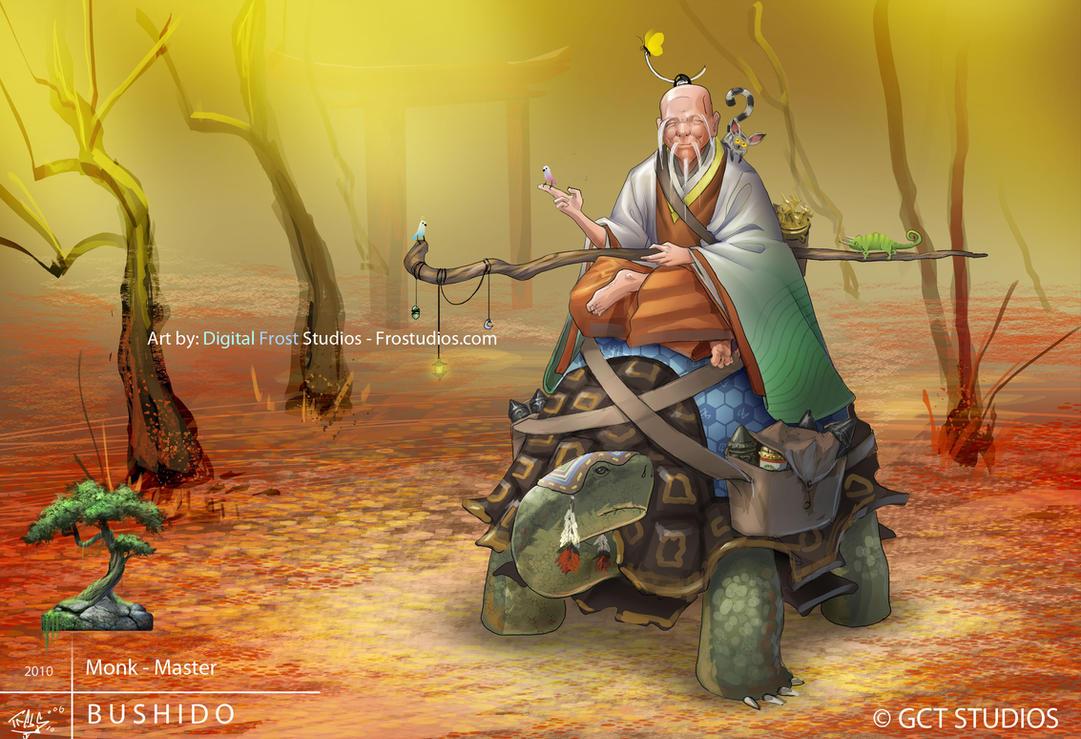Monk - Master by dinmoney