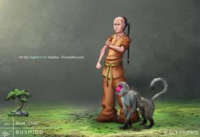 Monk - Child by dinmoney