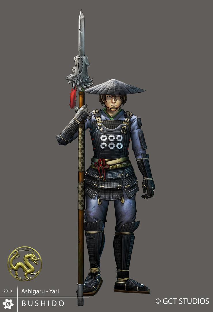 Ashigaru - Yari by dinmoney