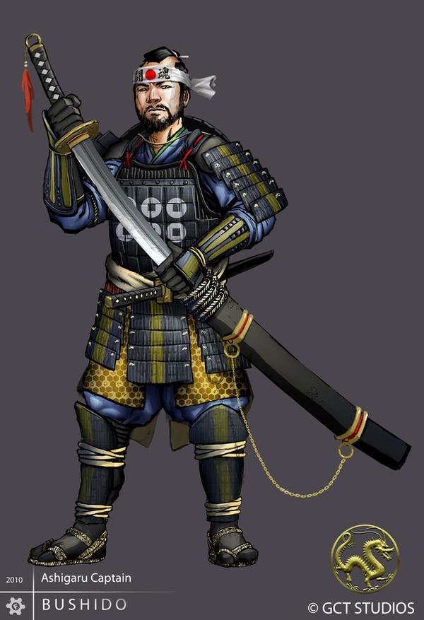 Ashigaru - Captain by dinmoney