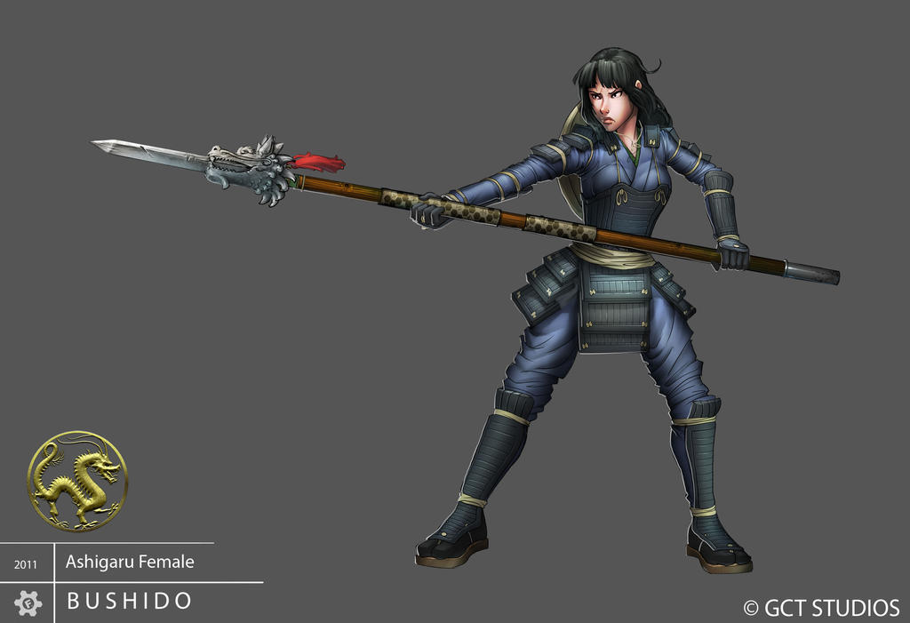 Ashigaru - Female by dinmoney