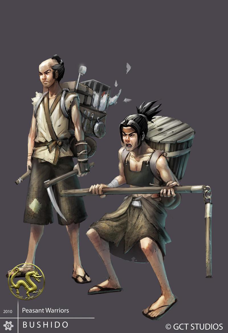 Peasant Warriors by dinmoney