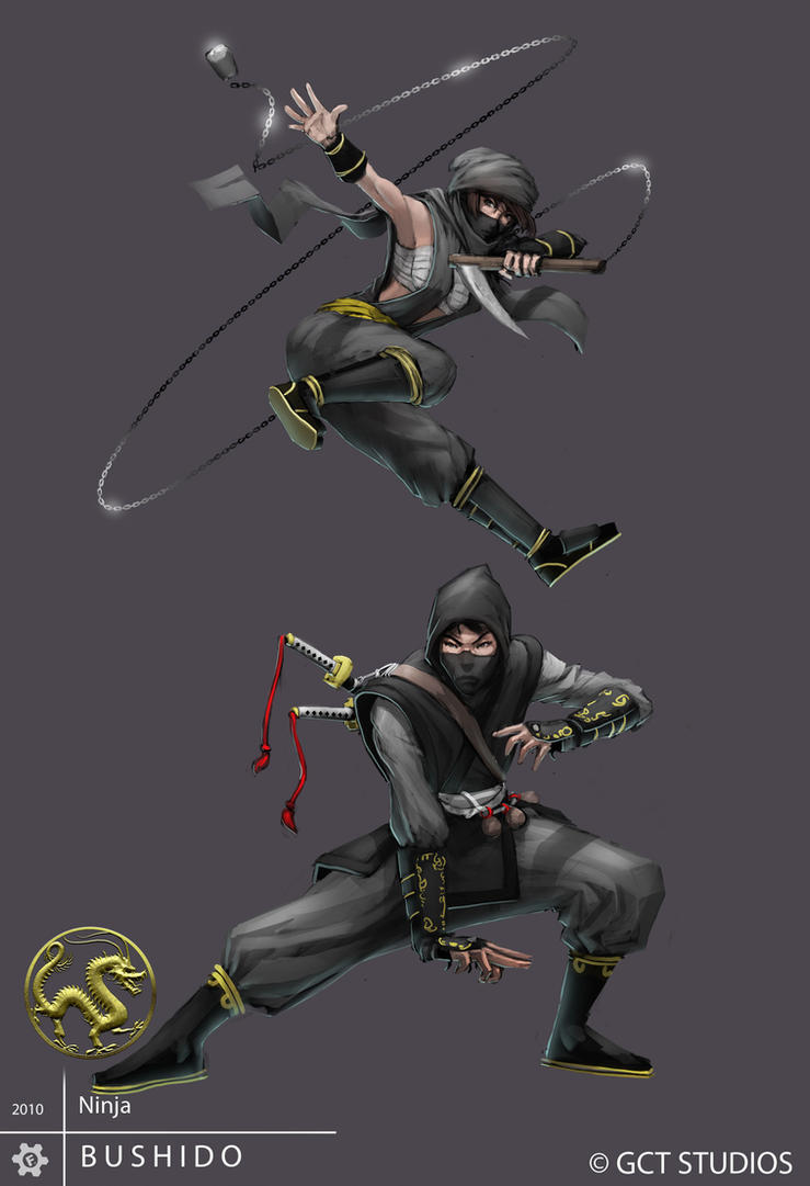 Ninjas by dinmoney