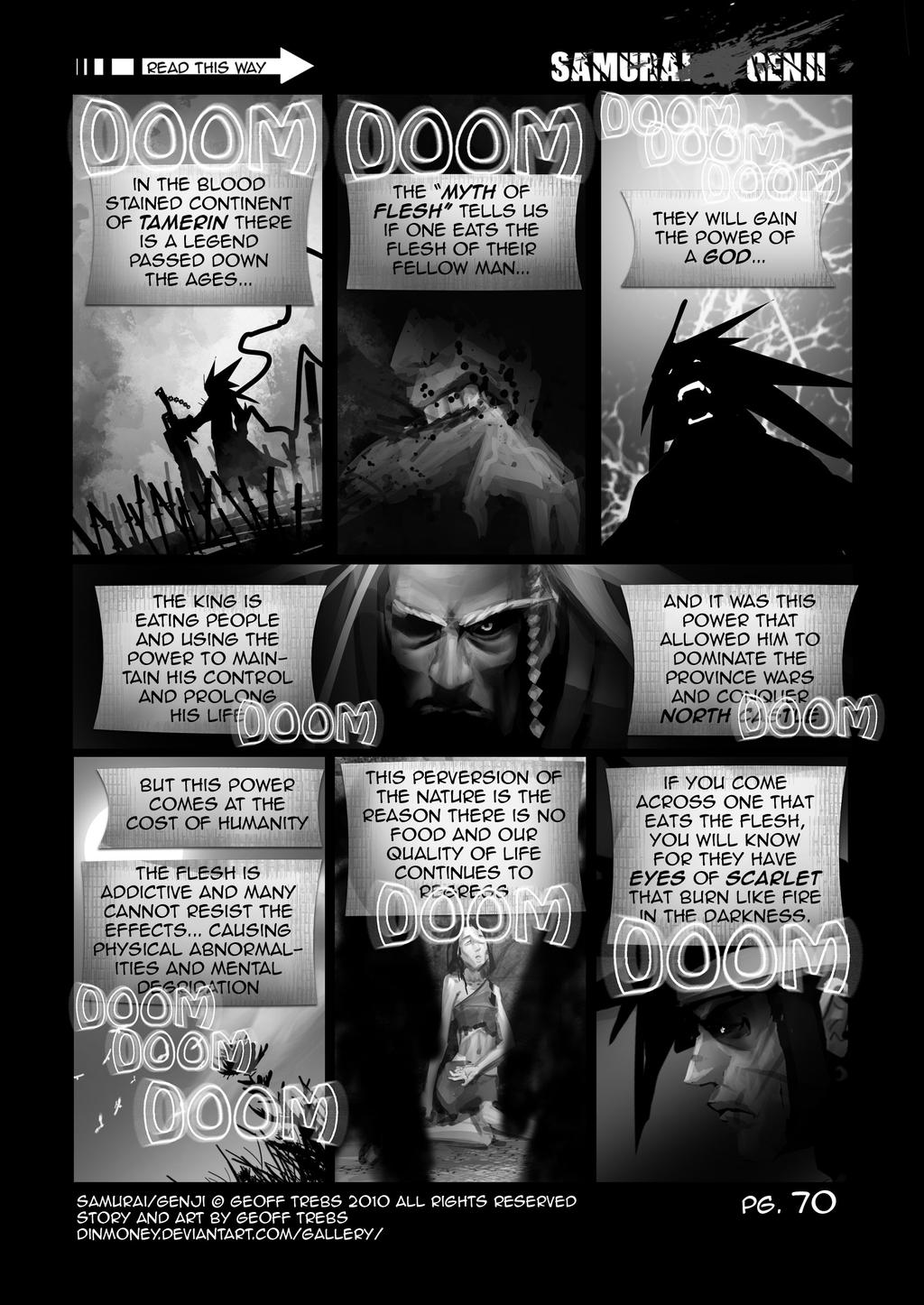 samurai genji pg.70 by dinmoney