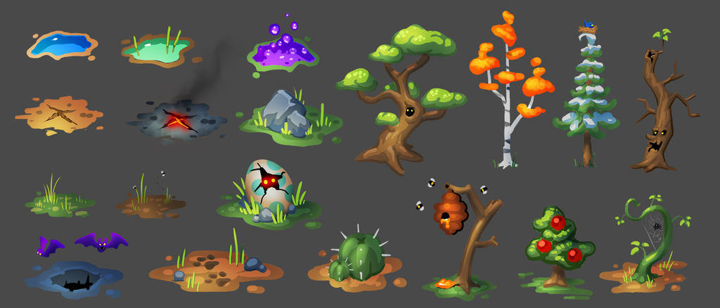 flash game concepts 01 by dinmoney on DeviantArt