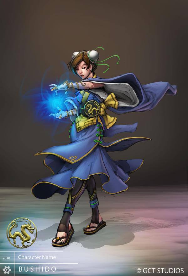BUSHIDO - Sorceress by dinmoney
