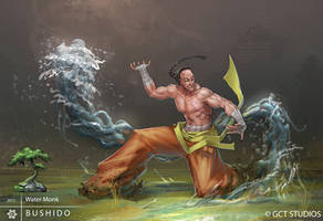 BUSHIDO - Water Monk by dinmoney