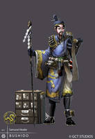 BUSHIDO - Samurai Healer by dinmoney