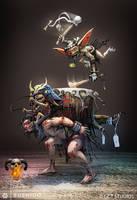 BUSHIDO - Drummer by dinmoney