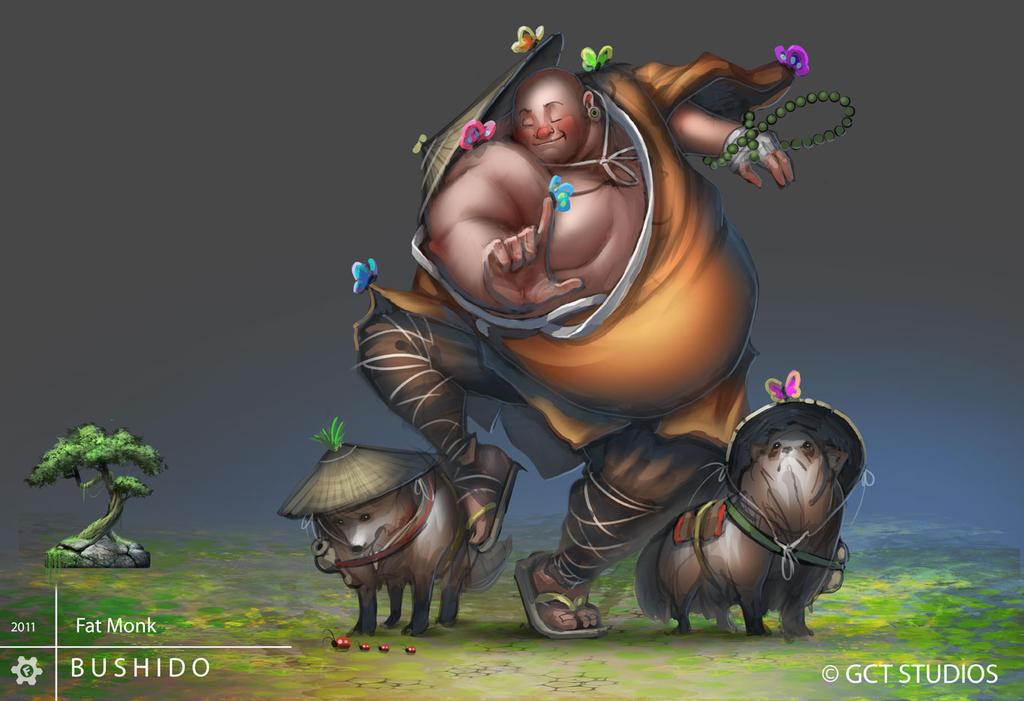 BUSHIDO - Fat Monk by dinmoney