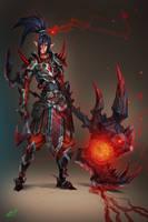 Elven Knight by dinmoney