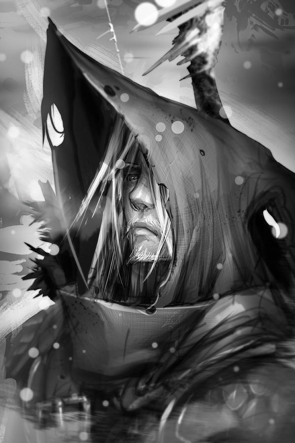 Sir Elden the Dragon Slayer by dinmoney
