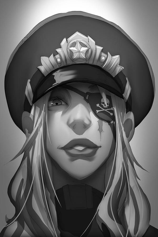 Military Queen - Sketch