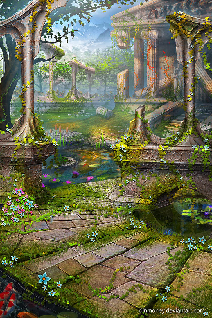 temple garden by dinmoney - Temple Garden