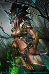 BRL: Driad Witch by dinmoney