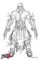 Yanshi: Yoshi sketch by dinmoney