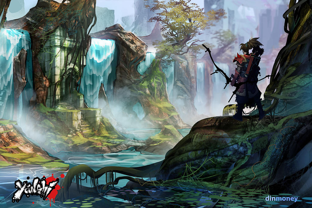 Yanshi: Waterfalls by dinmoney