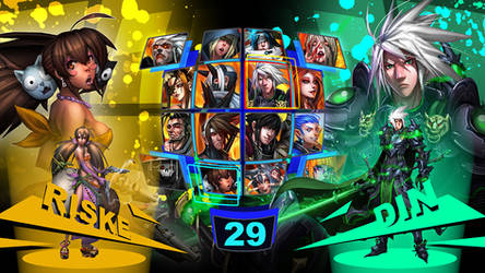 Character Select by dinmoney