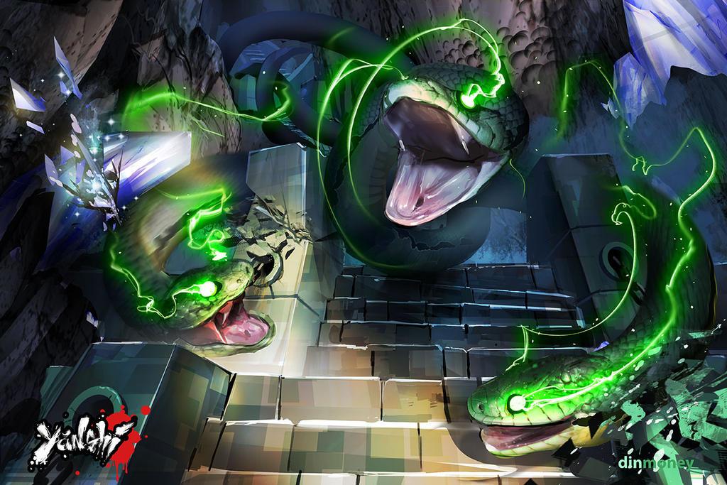 Yanshi: Serpent Temple by dinmoney