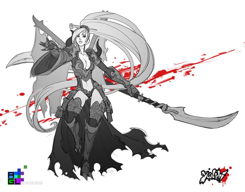 Yanshi: Izumi sketch by dinmoney