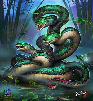 Yanshi: Three Headed Serpent
