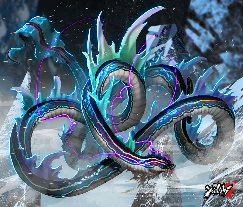 Yanshi: Dragon Serpent by dinmoney