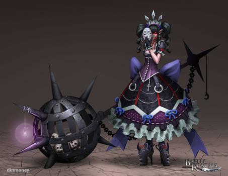 BRL: Deathborne Hero Girl