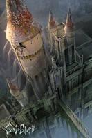 Girl in Glass: Castle by dinmoney