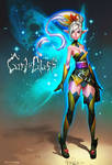 Girl in Glass: Clara by dinmoney