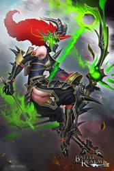 BRL: Dragon Archer by dinmoney