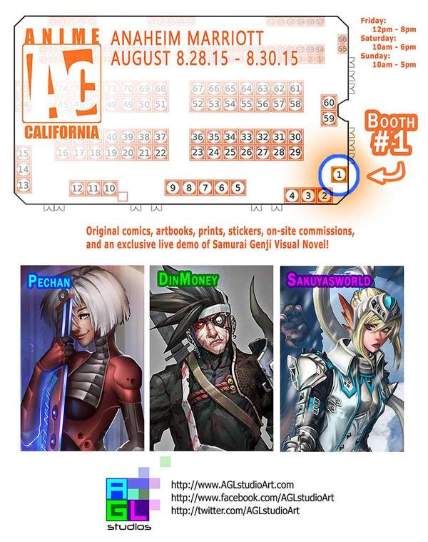 Anime California 2015 by dinmoney