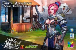 FA: Sword Training update by dinmoney