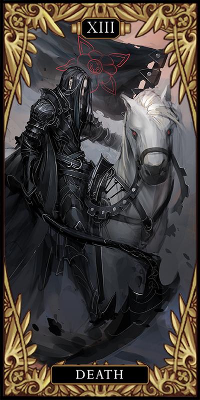 Tarot card XIII - Death