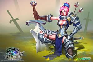 FA: Sword Instructor wallpaper by dinmoney