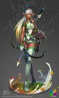 FA: Archery Instructor (full) by dinmoney