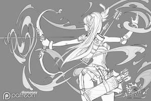 FA: Archer Shot sketch