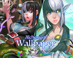 Alchemist Wallpaper by dinmoney